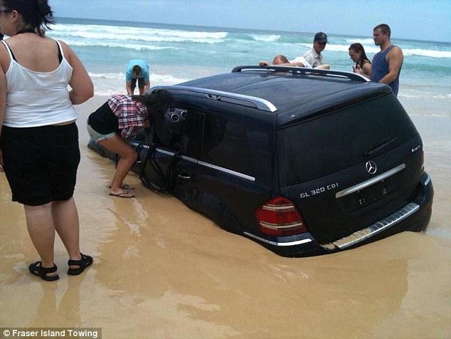 Sinking SUV 5