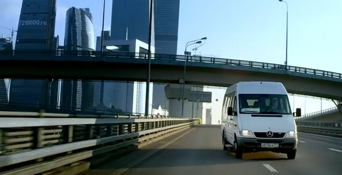 Un neamț la Moscova – Mercedes-Benz Sprinter Classic