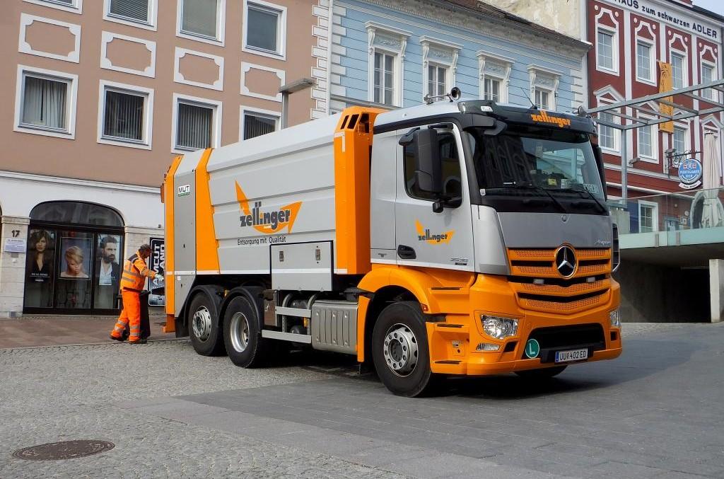 Mercedes-Benz Antos 2536 L, visul oricărui colector de reziduuri