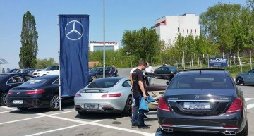Caravana Mercedes-Benz s-a oprit în Craiova și Târgu Jiu
