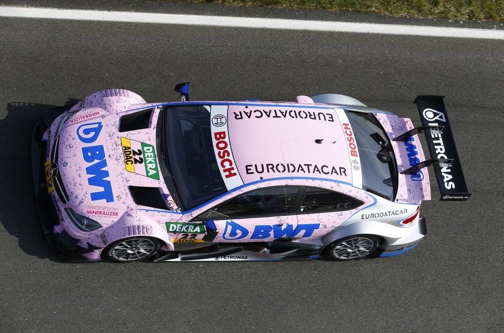 Eurodatacar devine sponsorul echipei Mercedes-AMG DTM