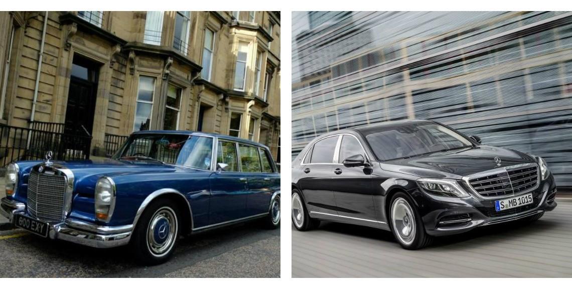 Dilemă: Mercedes-Benz 600 W100 la prețul unui Mercedes-Maybach nou?