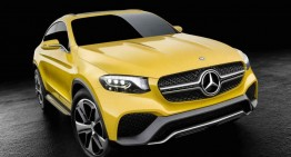 Hello, yellow! Primul video în care apare conceptul GLC Coupe