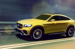 OFICIAL: Mercedes-Benz Concept GLC Coupe. Şah la BMW X4