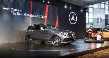 Mercedes-Benz live de la Salonul Auto de la New York (NYIAS)