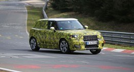 Poze spion: MINI Countryman pătrunde pe teritoriul GLA