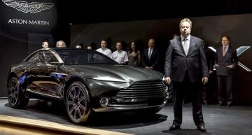 Aston Martin laudă alianța tehnologică cu Daimler