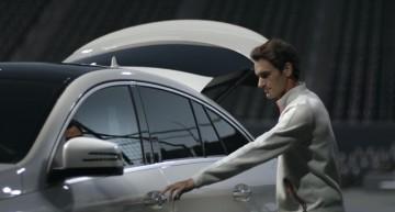 Roger Federer, ambasador de imagine pentru Mercedes-AMG GLE 63 Coupe