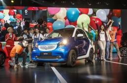 Live de la Salonul Auto de la Shanghai: Noul smart fortwo