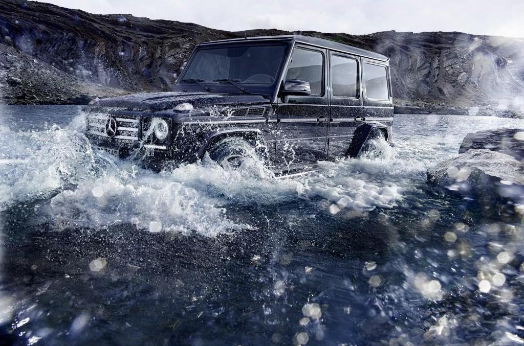 Regele din off-road într-un nou clip – Mercedes-Benz G 500 4×4²