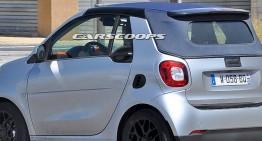 smart ForTwo Cabrio surprins practic nemascat