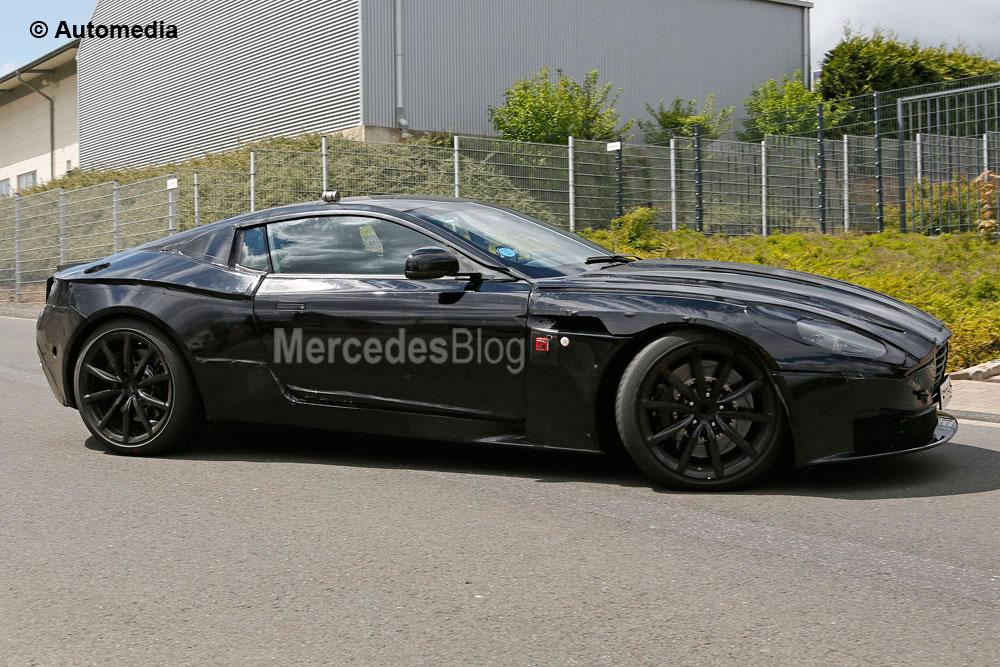 Noul Aston Martin DB11 va folosi tehnologie Mercedes