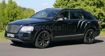 Primul SUV Bentley dezvăluit. Urmează replica Mercedes-Maybach