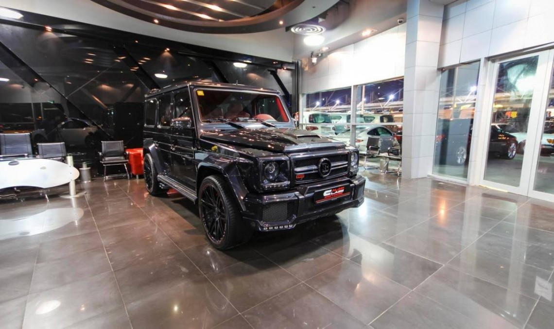 Între grotesc și genial: G 65 AMG făcut de Brabus la Dubai