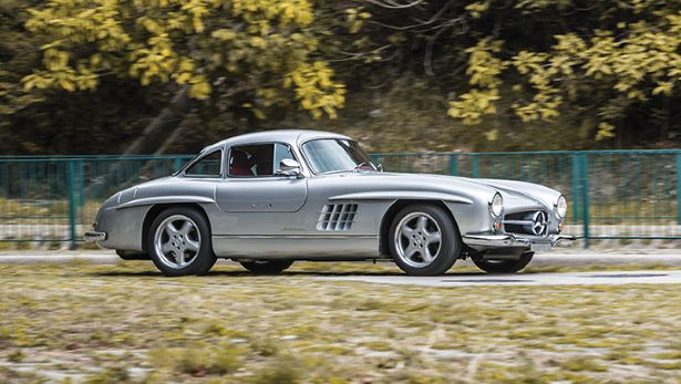 Mercedes 300 SL Gullwing AMG – cel mai rar Gullwing