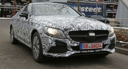 Mercedes-Benz C-Class Coupe face striptease – FOTO SPION