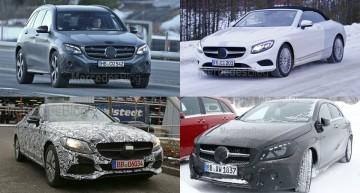 Patru noutăți Mercedes la Salonul Auto de la Frankfurt, inclusiv noul Mercedes GLC