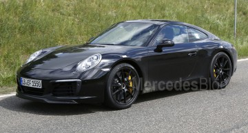 Rivalul pentru Mercedes-AMG GT, Porsche 911 facelift, nemascat