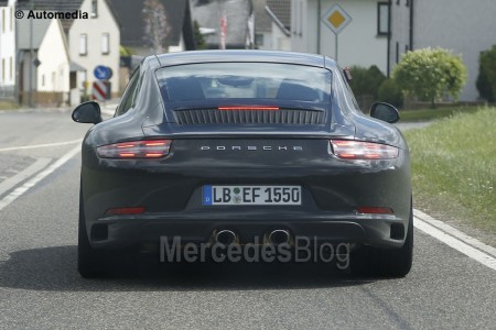 Spy-Shots of Cars Porsche 911 facelift