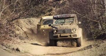 Răpitor și Prădător: camioneta americană Ford Raptor față-n față cu neamțul G500 4×4²
