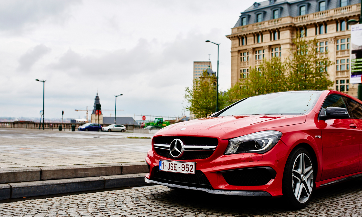 CLA Shooting Brake Bruxelles