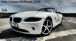 La soare te poți uita, dar la BMW, ba! Mașină îmbrăcată în cristale Swarovski la Chișinău