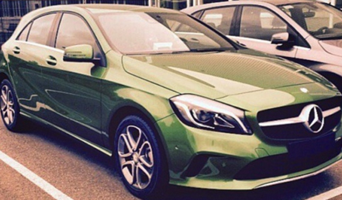PREMIERĂ: Mercedes-Benz A-Class facelift deconspirat