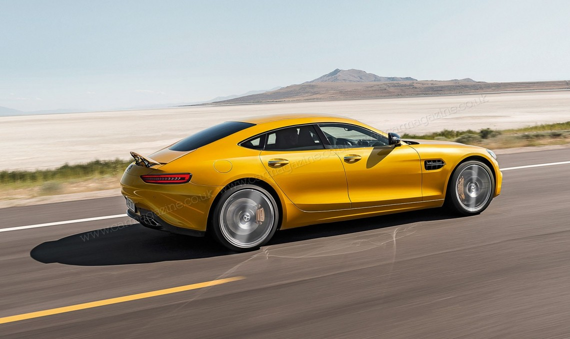 Mercedes-AMG GT4. Panamera killer revine în cărți
