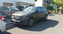 Un cititor Worldcarfans.com surprinde un Mercedes-Benz GLC