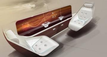 Mercedes-Benz Style și Lufthansa Technik creează o cabină impresionantă