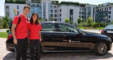 Cea mai bună jucatoare de squash din lume s-a plimbat cu un Mercedes la București