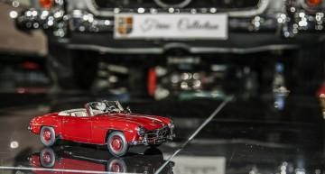 Ţiriac Collection: Mercedes-Benz 190 SL AUTOart 1:18 îşi întâlneşte muza