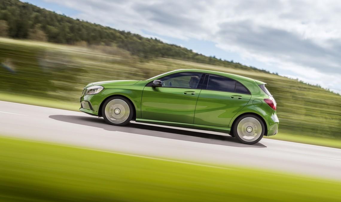 Oficial: Mercedes A-Class facelift