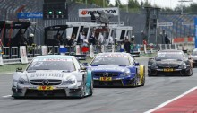 Motorsports: DTM race Lausitzring,  #12 Daniel Juncadella (ESP, Muecke Motorsport, Mercedes-AMG C63 DTM)