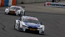 Lausitzring (DE) 31th May 2015. BMW Motorsport, Maxime Martin (BE) SAMSUNG BMW M4 DTM and Marco Wittmann (DE) Ice-Watch BMW M4 DTM. This image is copyright free for editorial use © BMW AG (05/2015).