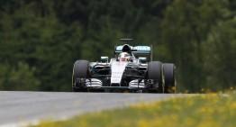 Austria F1 calificări: Hamilton în pole, Rosberg pe doi