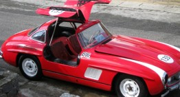 Mercedes-ul 300SL al unui fost președinte salvat de la rugină