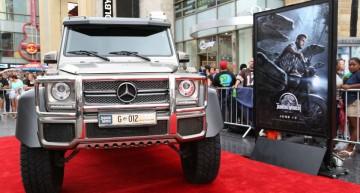 Premiera Jurassic World – Mercedes-urile arată atât de… dino-mic
