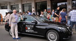 Cu Mercedes-Benz C-Class pe covorul roșu la TIFF
