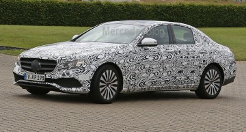 Noul Mercedes-Benz E-Class spionat în versiunea AMG