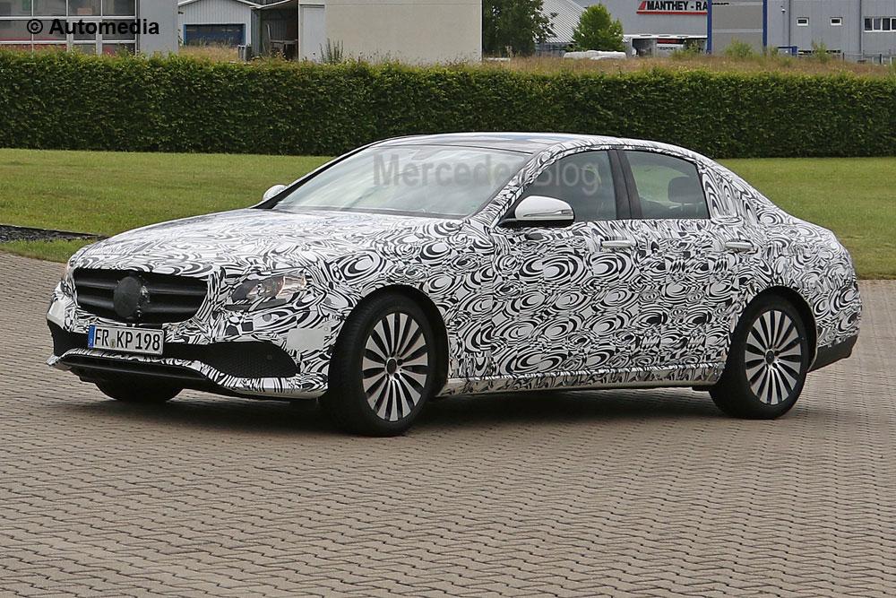 Viitorul Mercedes E-Class – cea mai inteligentă mașină construită vreodată