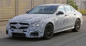 Mercedes-AMG E 63 dezvăluit. Primele fotografii spion