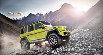 Undă verde pentru T-Rex. Prețurile noului Mercedes-Benz G500 4×4²