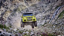 Mercedes-Benz G500 4×4² Showcar