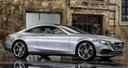 Mercedes-Benz S-Class Coupe sfidează legile fizicii într-un nou clip