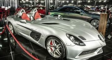 Top 10 al comorilor Mercedes-Benz din Colecția Țiriac