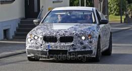 Primele fotografii spion cu noul BMW M5, rival pentru Mercedes-AMG E 63