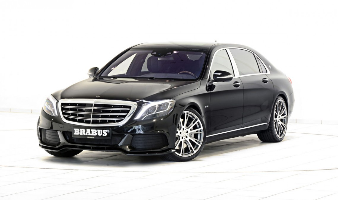 Mercedes-Maybach S 600 primește tratamentul Brabus