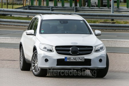 Spy-Shots of Cars GLC