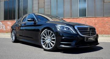 Viziunea celor de la MEC asupra unui Mercedes-Benz Clasa S